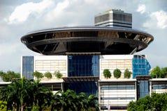 大厦现场至尊新的新加坡 库存图片