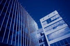 大厦现代办公室 免版税库存图片