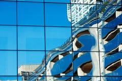 大厦玻璃现代办公室 免版税图库摄影