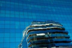 大厦玻璃现代办公室 图库摄影