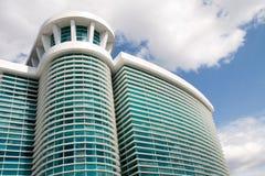 大厦玻璃绿色 免版税库存图片