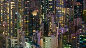 大厦画象在城市 免版税库存照片