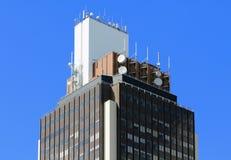 大厦的上面 免版税库存照片