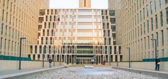 大厦的前面 免版税库存照片