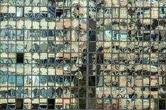 大厦的反射 免版税库存照片