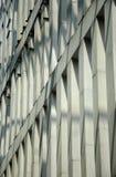 大厦的外部façade与屏蔽效应的 库存照片