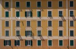 大厦的海拔 免版税库存图片