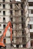 大厦的爆破 免版税图库摄影