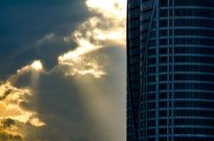 大厦的片段 免版税图库摄影