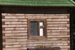 大厦的窗口,特写镜头 免版税库存照片