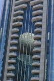 大厦的美好的图象被反射在其他 免版税图库摄影