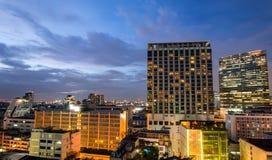 大厦的视图 免版税图库摄影