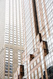 大厦的门面在曼哈顿 库存图片
