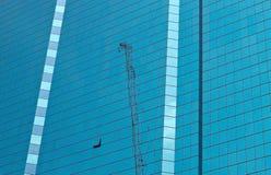 大厦的玻璃墙 库存照片