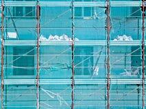 大厦的建造场所 免版税库存图片