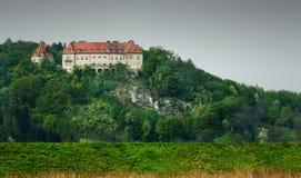 大厦筑了堡垒于 免版税库存照片