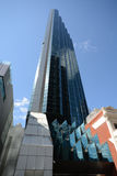 大厦老和新在珀斯澳大利亚 免版税库存照片