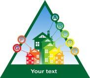 大厦能源性能 免版税库存照片