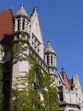 大厦芝加哥哥特式样式大学 图库摄影