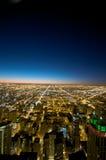 大厦芝加哥汉考克视图 免版税图库摄影