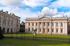大厦英国学院的国王 库存照片