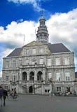 大厦荷兰马斯特里赫特 免版税库存照片