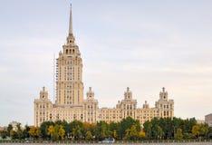 大厦莫斯科 库存图片