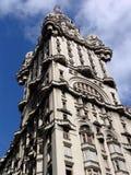 大厦蒙得维的亚齐射乌拉圭 图库摄影