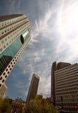 大厦街市新的温尼培 免版税库存图片
