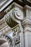 大厦详细资料外部 免版税库存图片