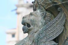 大厦详细资料有历史的威尼斯 免版税库存照片