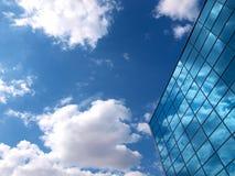 大厦详细资料现代办公室 免版税库存照片