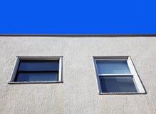 大厦详细资料视窗 库存图片