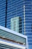 大厦详述现代 免版税库存图片