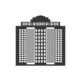 大厦象 城市和都市设计 背景装饰图象风格化漩涡向量挥动 图库摄影