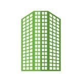 大厦象 城市和都市设计 背景装饰图象风格化漩涡向量挥动 库存照片