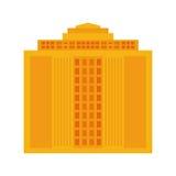 大厦象 城市和都市设计 背景装饰图象风格化漩涡向量挥动 免版税库存照片