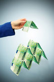 大厦货币 免版税库存图片