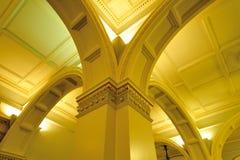 大厦走廊议会 免版税库存图片