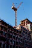 大厦起重机新的塔 免版税库存图片