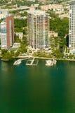 大厦迈阿密样式 免版税库存照片