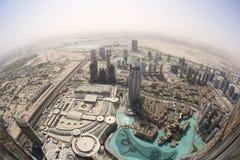 大厦都市风景在迪拜 免版税库存照片
