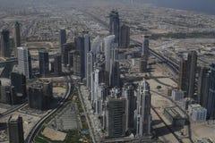 大厦都市风景在迪拜 库存图片