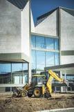 大厦重建,现代艺术博物馆的整修  库存图片