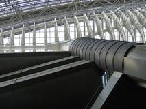 大厦金属屋顶 免版税图库摄影