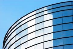 大厦镜子办公室 免版税图库摄影
