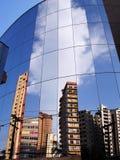大厦镜子 库存图片