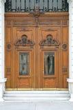 大厦门东部项人修道院s木的乌克兰 图库摄影