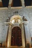 大厦门东部项人修道院s木的乌克兰 免版税图库摄影