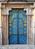大厦门入口向大学wroclaw 免版税库存照片